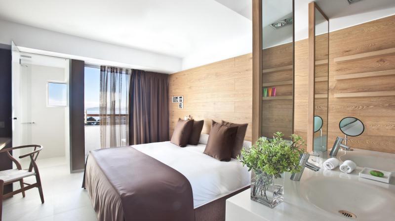 habitación con terraza en mallorca
