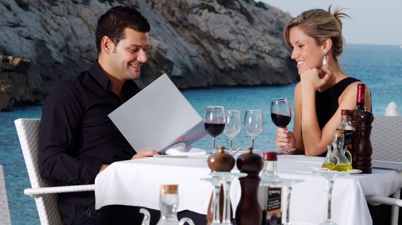 cena romantica cala san vicente