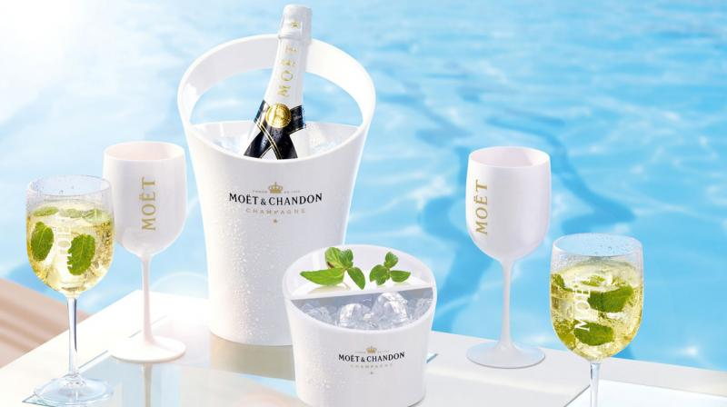 moet chandon bottle mallorca