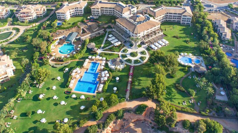 Hotel vista pajaro