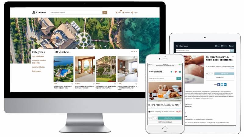 Desktop and mobile on-line shop
