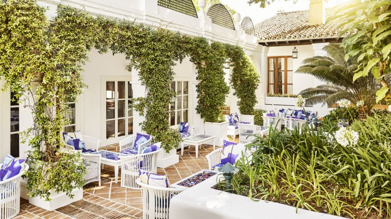 marbella club restaurant