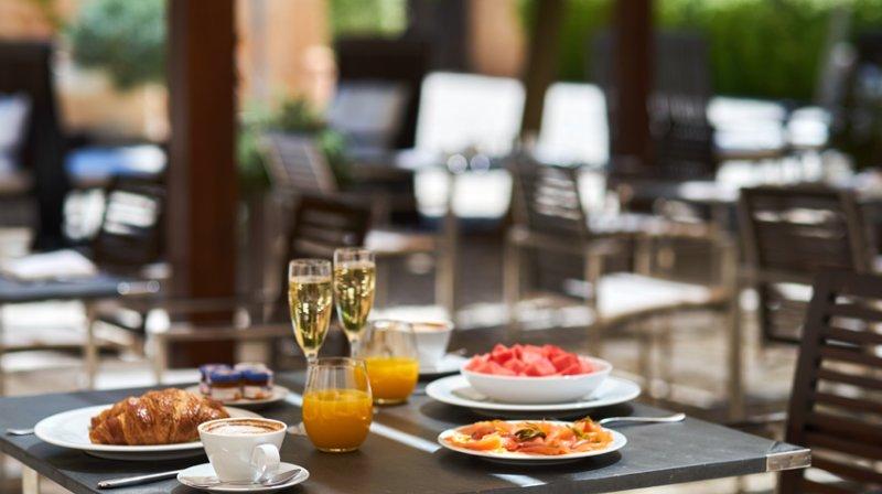 Hilton MAllorca breakfast