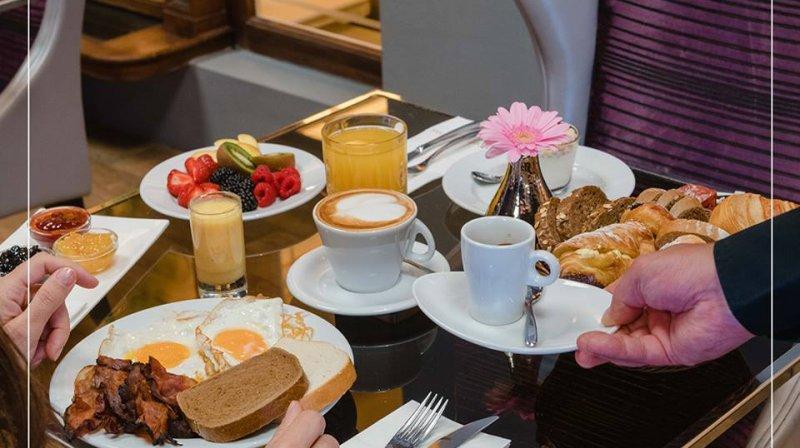 breakfast at Carlo IV Prague