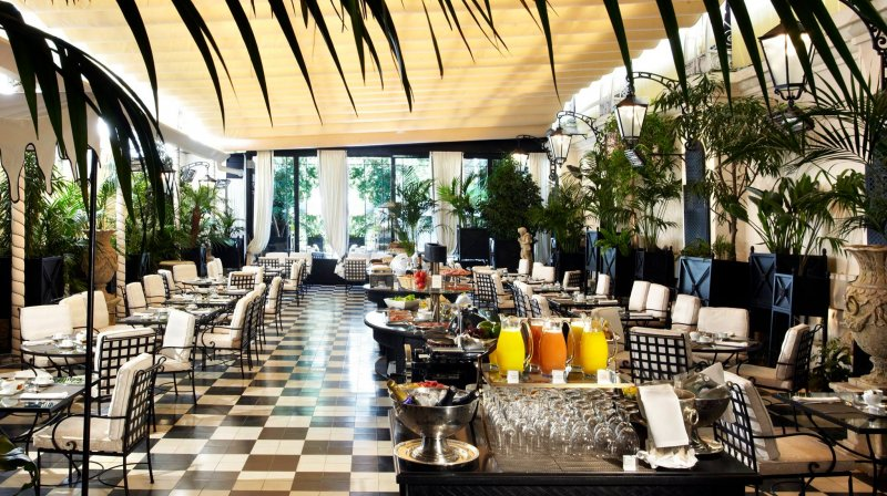 breakfast el palace