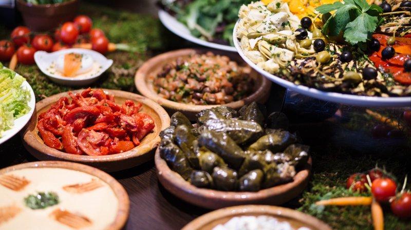 Mediterranean feast