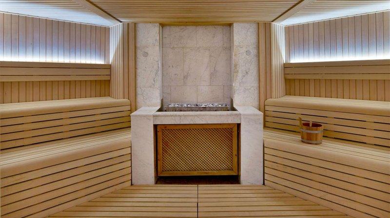 sauna st regis