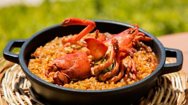 arroz de bogavante le meridien ra