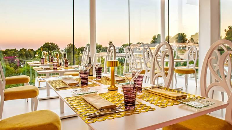 cena restaurante collins mallorca