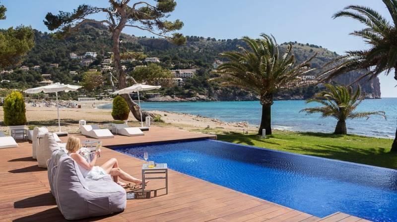 hotel con vistas al mar mallorca