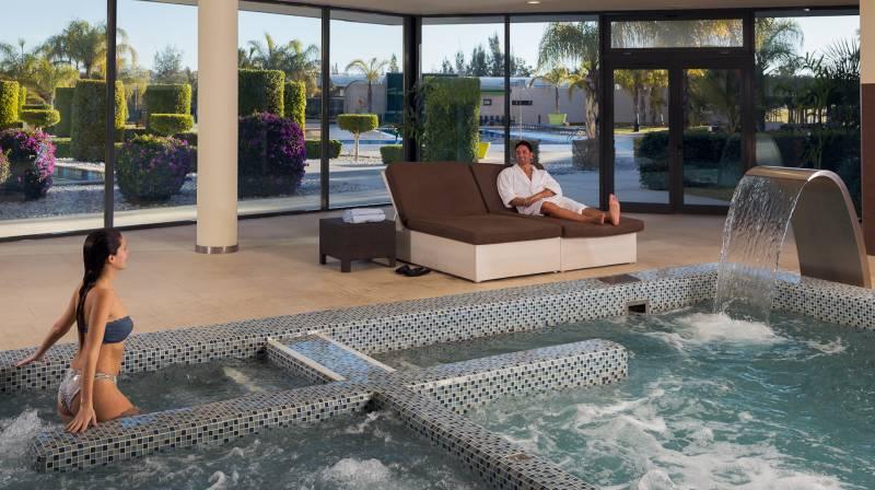 La finaca indoor pool spa