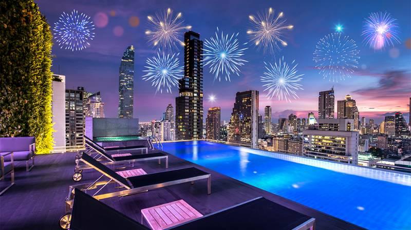 New Year's Eve Happy Hour at Amara Bangkok