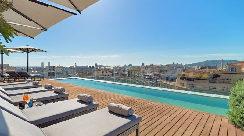 Accommodation with Dinner & Spa for 2 at The One Barcelona