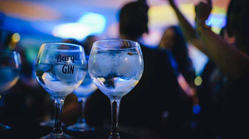 Burger Meets Gin in Barcelona