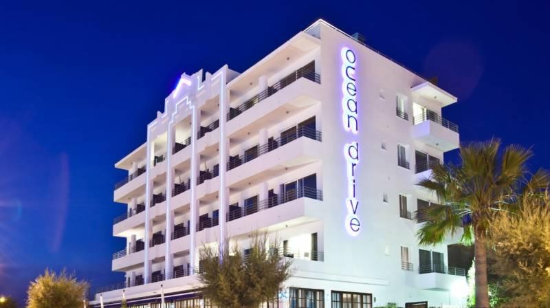 Alojamiento con vistas al mar en OD Ocean Drive Ibiza
