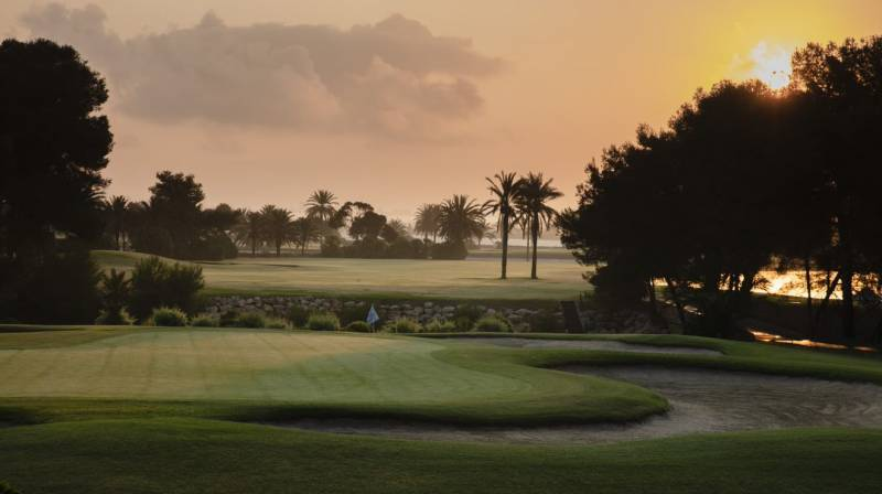 El mejor campo de golf de cartagena