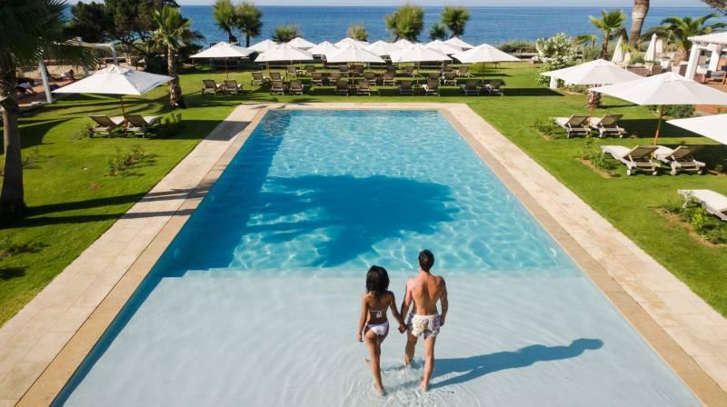 Balinese Bed at Beach Club