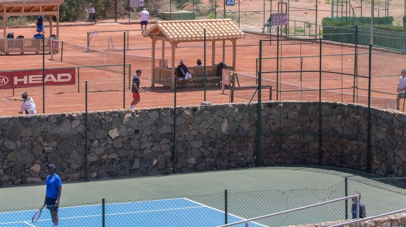 Tennis Court Rental at La Manga Club Resort