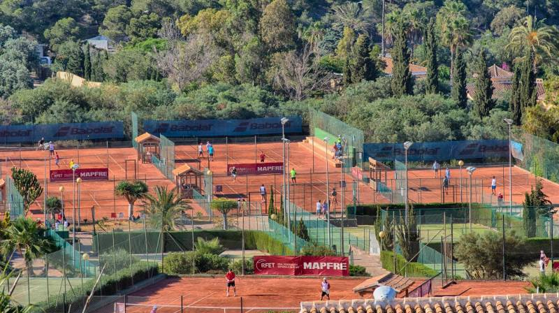 The best tennis court in cartagena