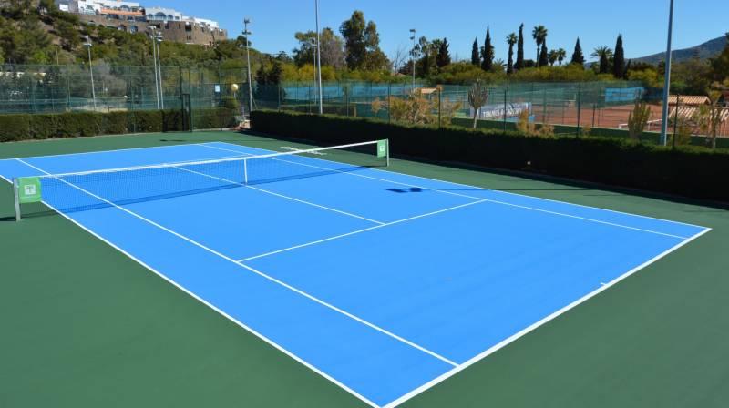 La mejor pista de tenis de cartagena