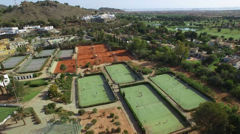 Tennis Court Rental at La Manga Club