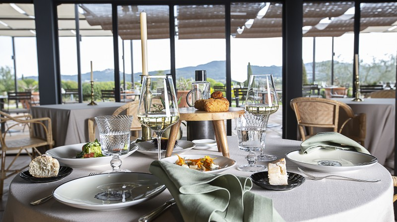 Accommodation, Dinner, Lunch & Spa at Mas de Torrent