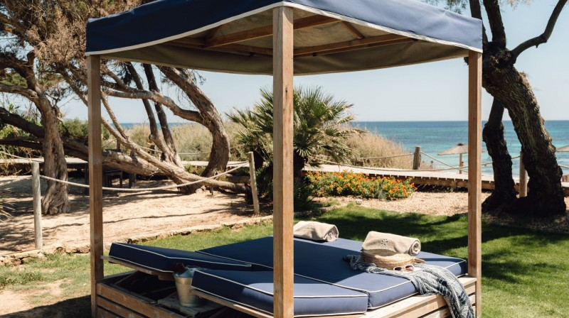 Pase de dia para dos en Gecko Beach Club Formentera