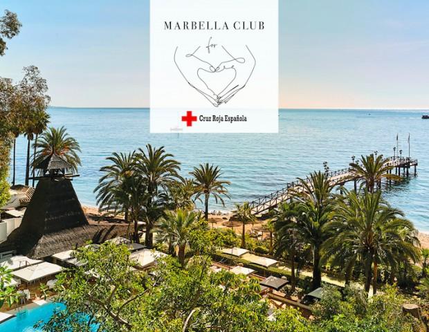 marbella beach club cruz roja