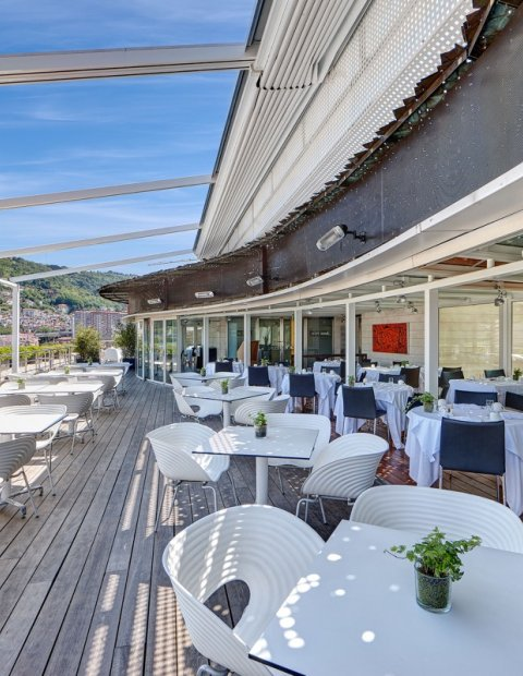 breakfast terrace domine bilbao