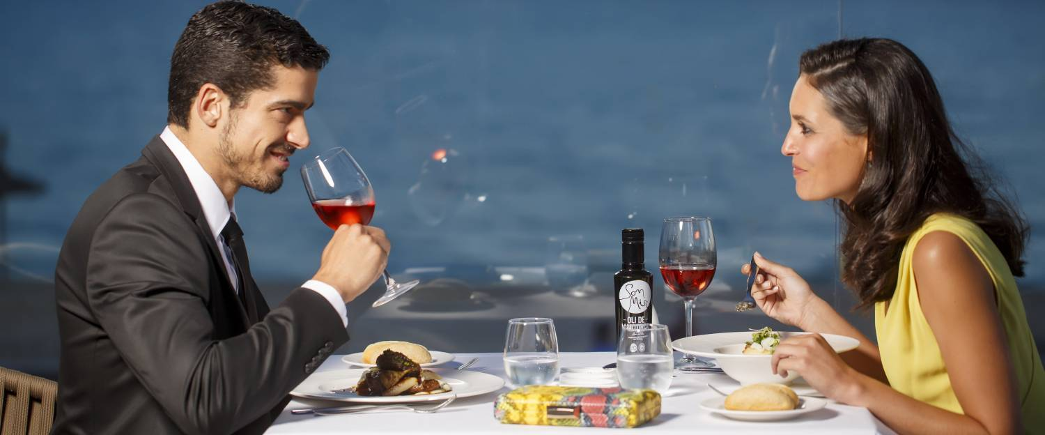 romantic dinner playa de palma hotel treats