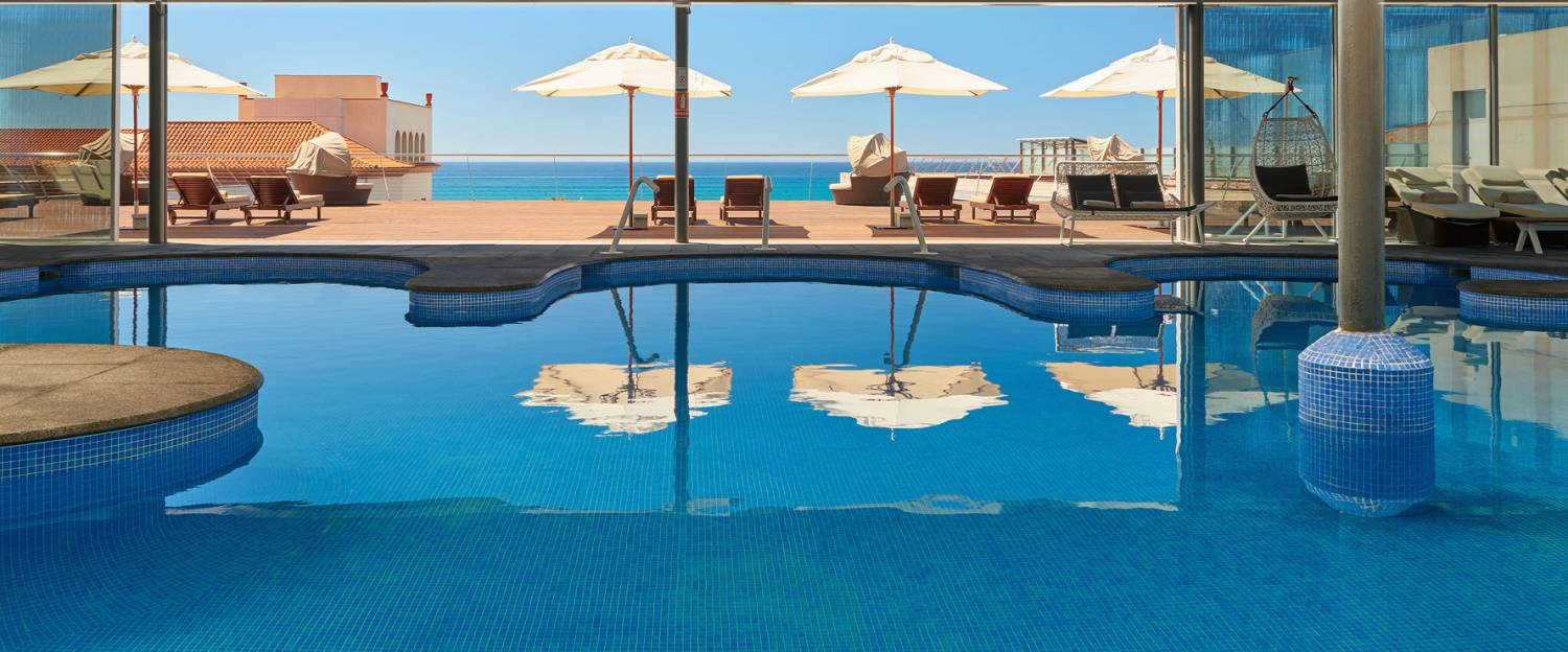Thalassotherapy pool at le Méridien Ra Beach Hotel & Spa