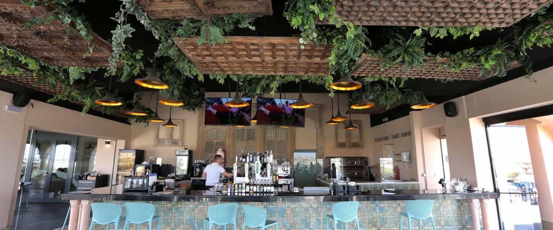 bar at La Finca