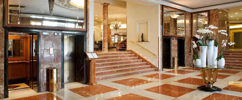 Intercontinental Hotel lobby Hotel Treats