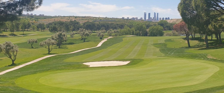 campo de golf madrid